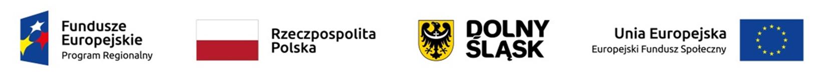 Logotypy instytucji unijnych w ramach których realizowy jest projekt unijny
