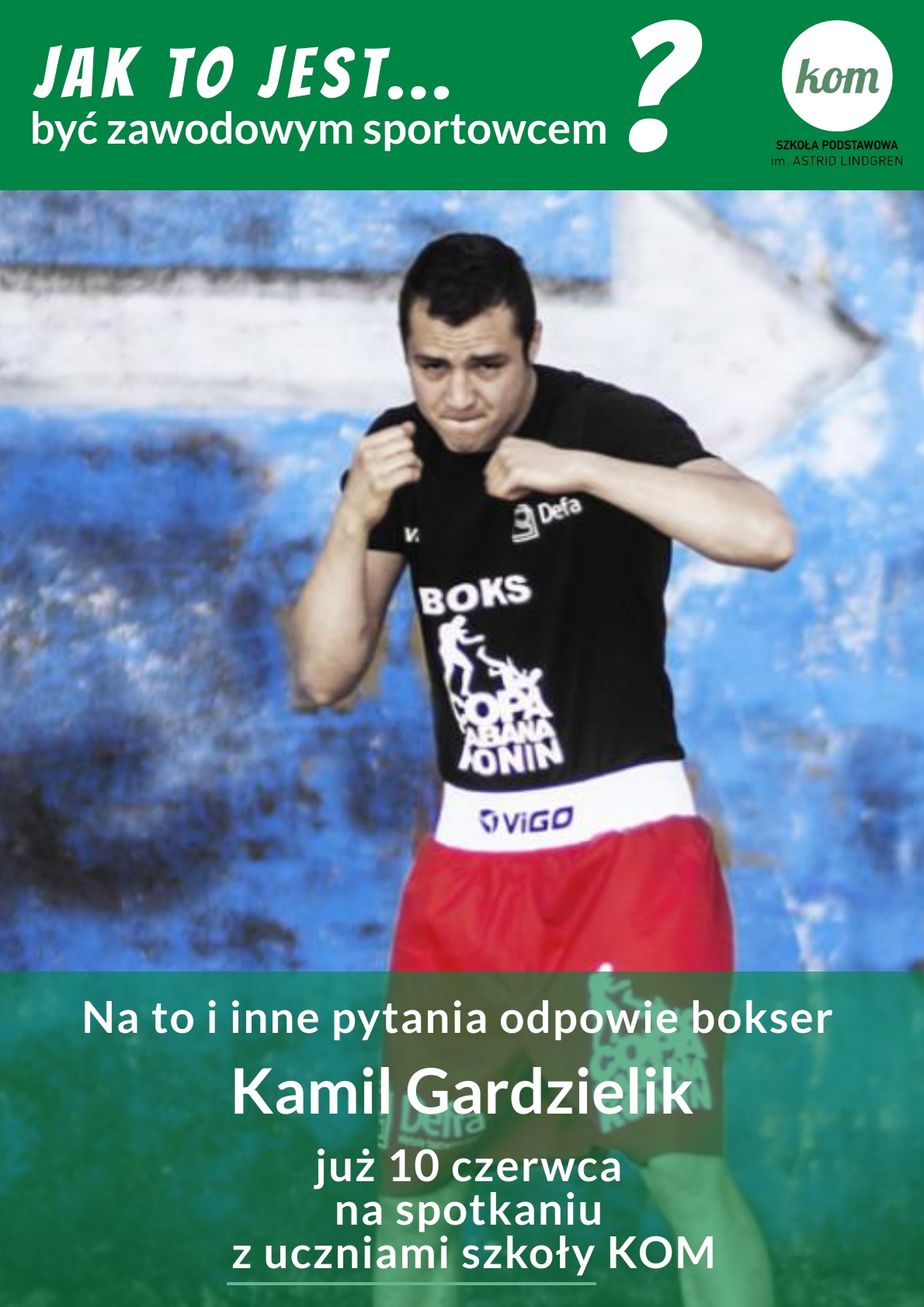Jak to jest być…? Spotkanie z Kamilem Gardzielikiem.