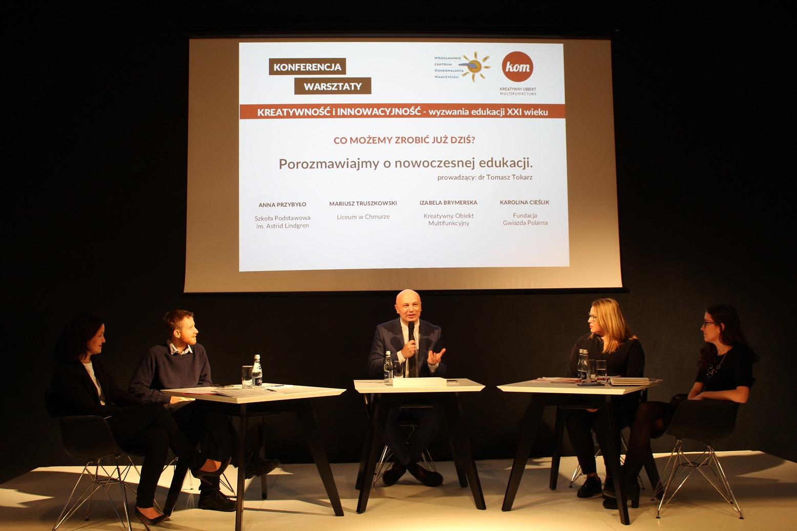 Konferencja Kreatywność i Innowacyjność – dzielimy się doświadczeniem